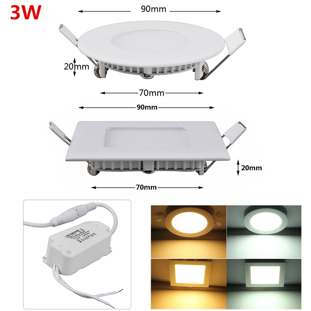 Led panel deckenleuchte deckenlampen heim b ro einbau unterputz lampen ultrad nn ebay - Led buro deckenleuchte ...