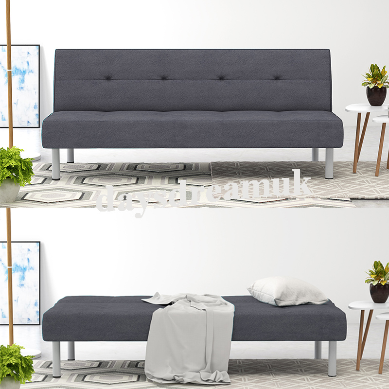 Miraculous Details About Panana Fabric 3 Seater Sofa Bed Luxury Couch Grey Sofa Uk Fire Regulated Evergreenethics Interior Chair Design Evergreenethicsorg