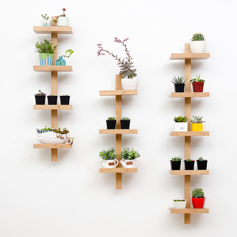 3 4 5 Tier Wall Hanging Plant Shelf