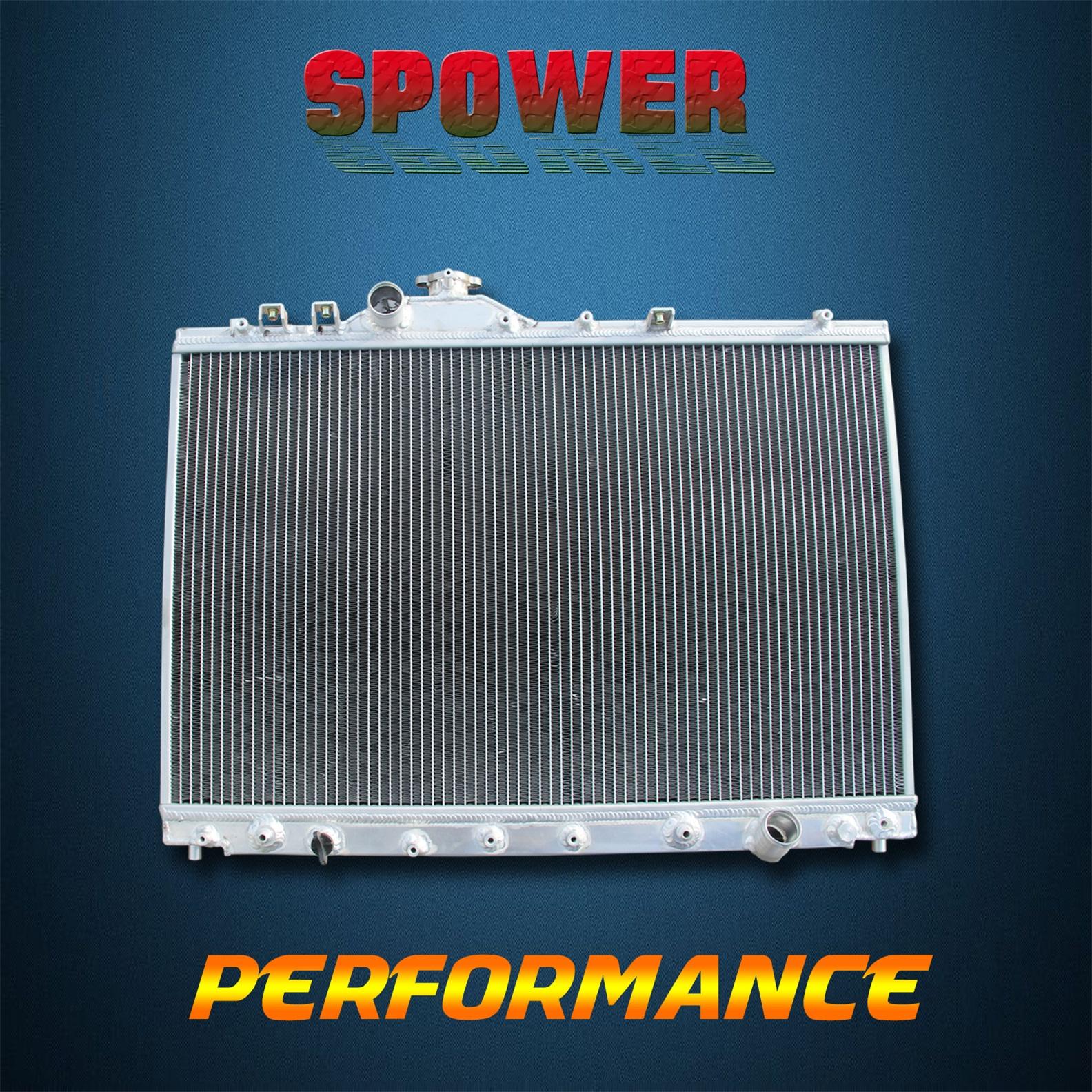 2Row Aluminum Radiator Fit For Saab 9-2X 05-06// Subaru Baja 04-06 Impreza 03-07