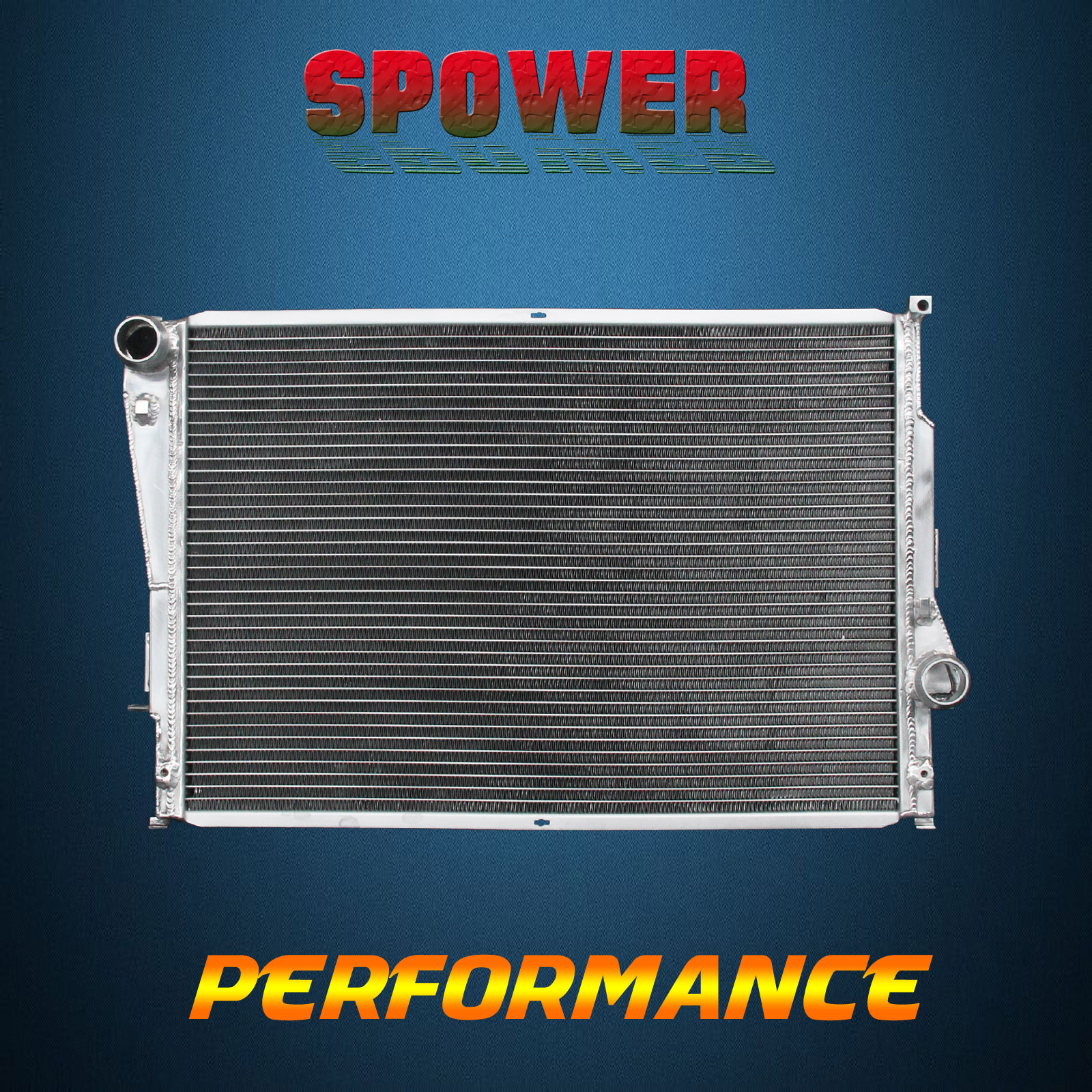 completed radiator bmw job air con