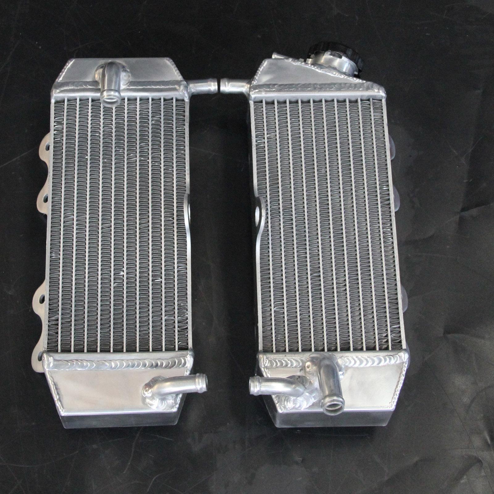 L/&R For KAWASAKI KX125 KX 125 1990 1991 1992 90 91 92 Aluminum Radiator