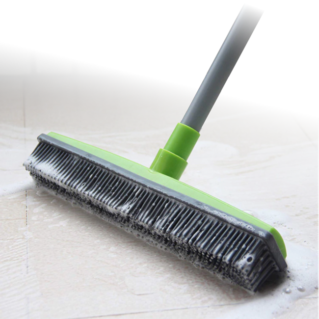 Miracle™ Rubber Broom Bristles Sweeper Squeegee Scratch
