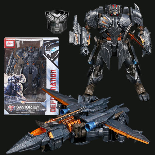 """Transformers 5 Movie The Last Knight V Megatron 8/"""" Action Figure Plane Gifts"""