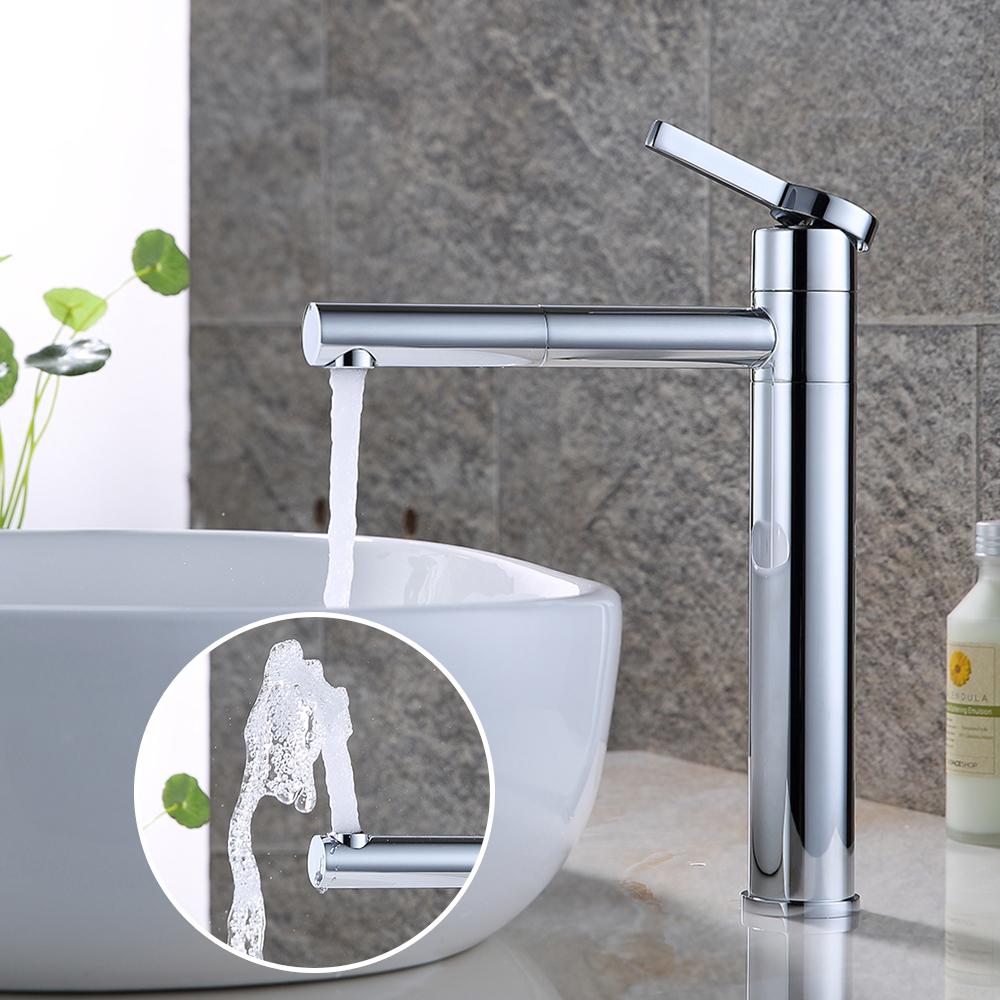 360 drehbar waschtischarmatur bad armatur wasserhahn waschbecken mischbatterie ebay. Black Bedroom Furniture Sets. Home Design Ideas