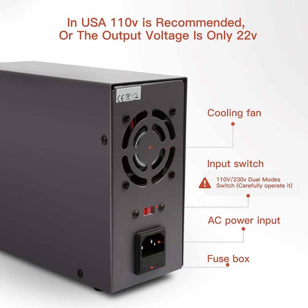 Lab Power Supply 0 30v 2a By Ca3140tip412n3055