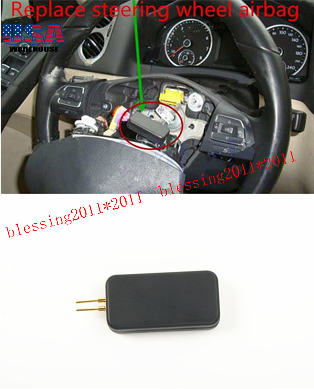 Details about For HYUNDAI Compatible SRS Airbag Simulator Bypass Kit -  EMULATOR TOOL