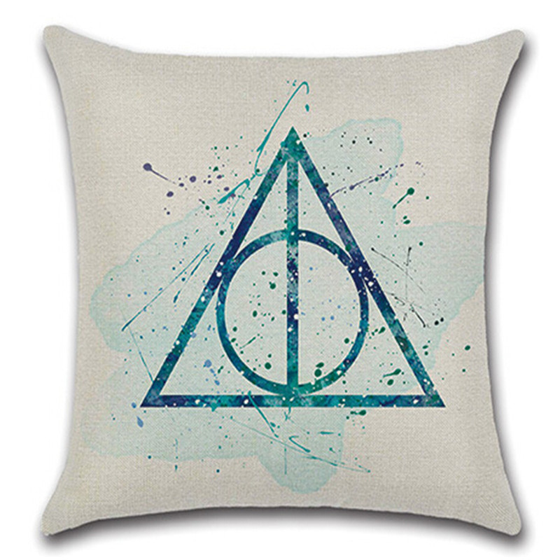 Industrial Light And Magic Harry Potter: Harry Potter Magic Linen Throw Pillow Case Cushion Cover