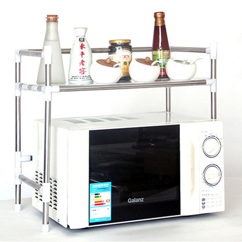1/2 Tiers Microwave Oven Stand Storage Rack Shelf Space Saving Kitchen  Shelf NEW