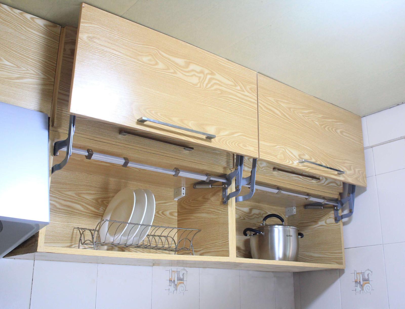 US Hanging Cabinet Door Vertical Swing Lift Up Stay Pneumatic Arm ...