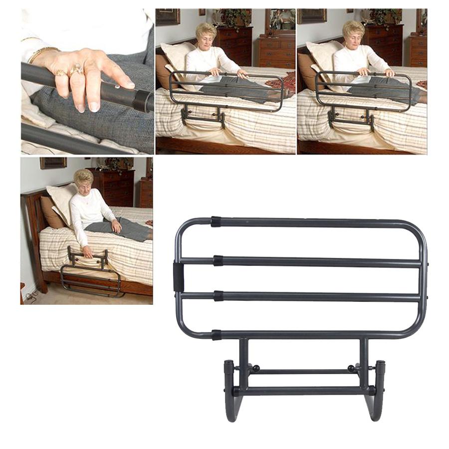 Bed Rails For Elderly Guard Hospital Safety Adjustable Secure ...