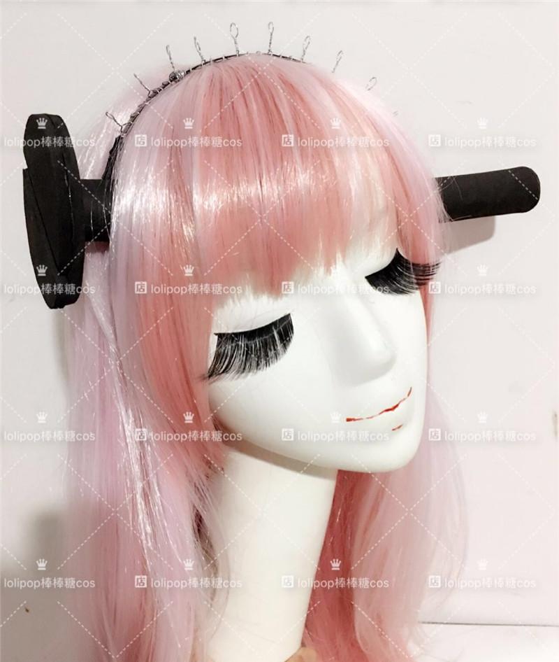 Anime Cosplay Props.SOUL EATER.STEIN.Big nail hair hoop