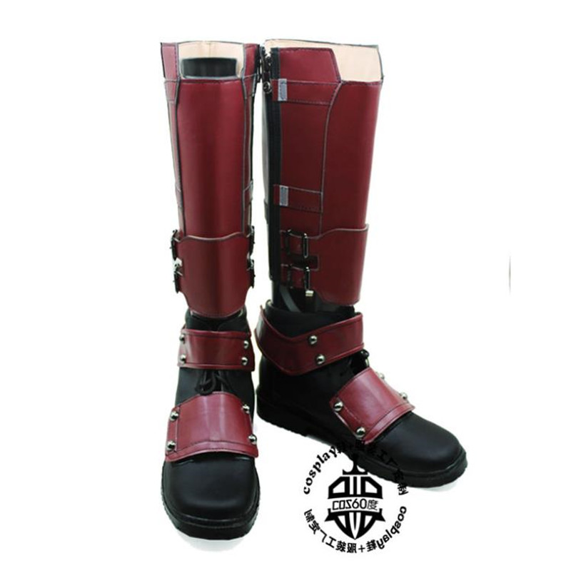 Marvel Deadpool Weapon X Wade Wilson Cosplay Boots Men Costume Shoes ... ab53401cde4b7