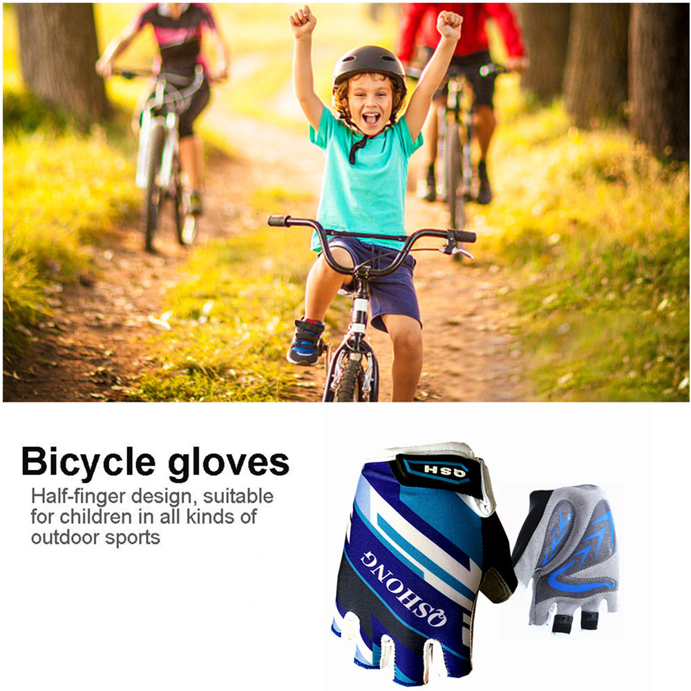 Details about Cycling Bike Gloves Kids Boy Girl Pad Youth Junior Road  Mountain Bicycle USA Set