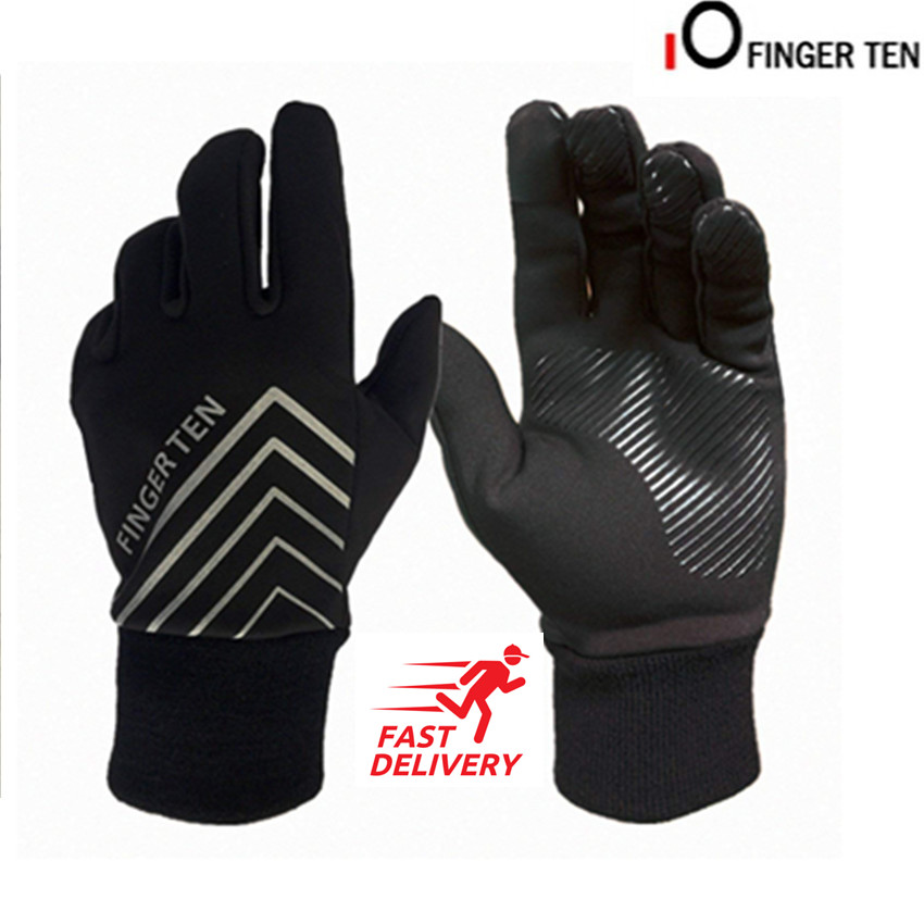 e1d76378595d1 Mens Winter Gloves Thermal Insulated Cycling Hiking Driving Work 3M ...