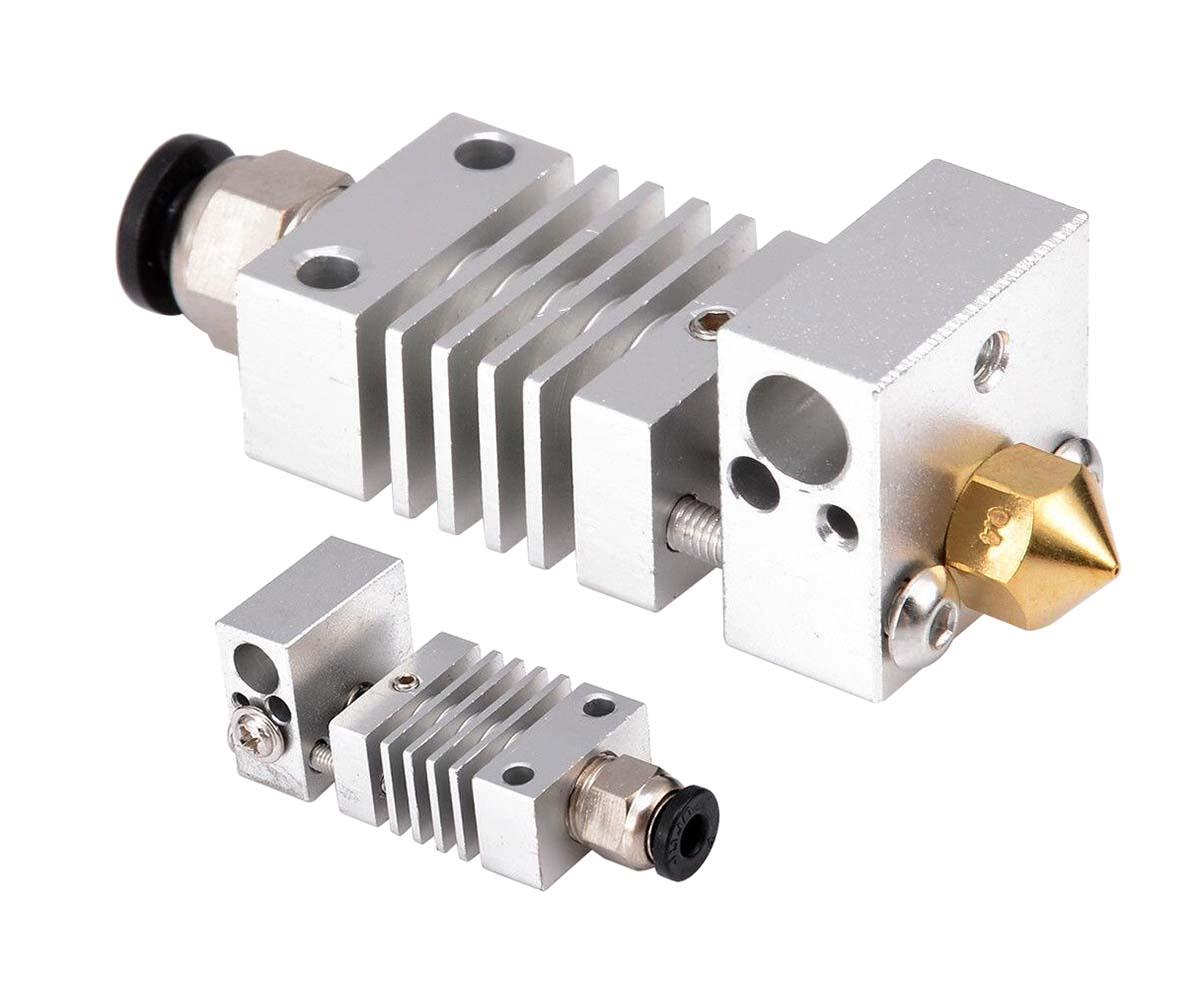 CR-10 Metal Hotend Kit With Titanium Alloy Thermal Heatbreak For 3D Printer Kit