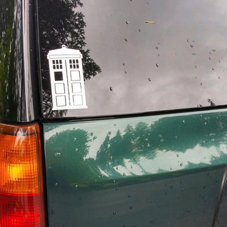 Doctor Who Tardis Whovian Sticker Car Laptop 6/'/' Window Wall Bumper Vinyl Decal