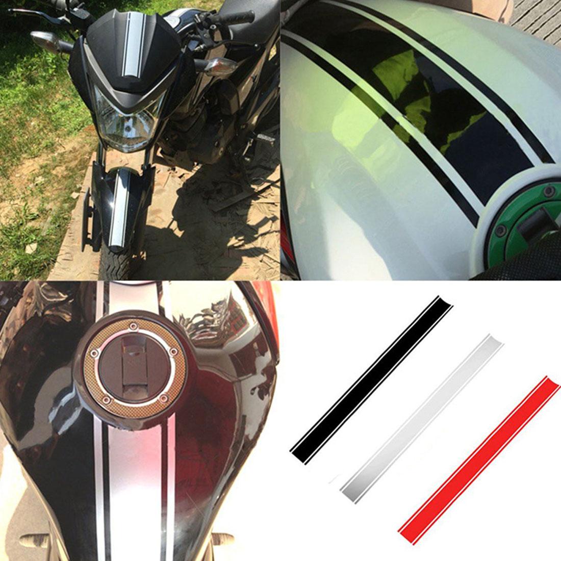 50 x 4.5 cm Motorcycle Body Sticker Tape Stripe Car Decal Strip Vinyl Racer Moto