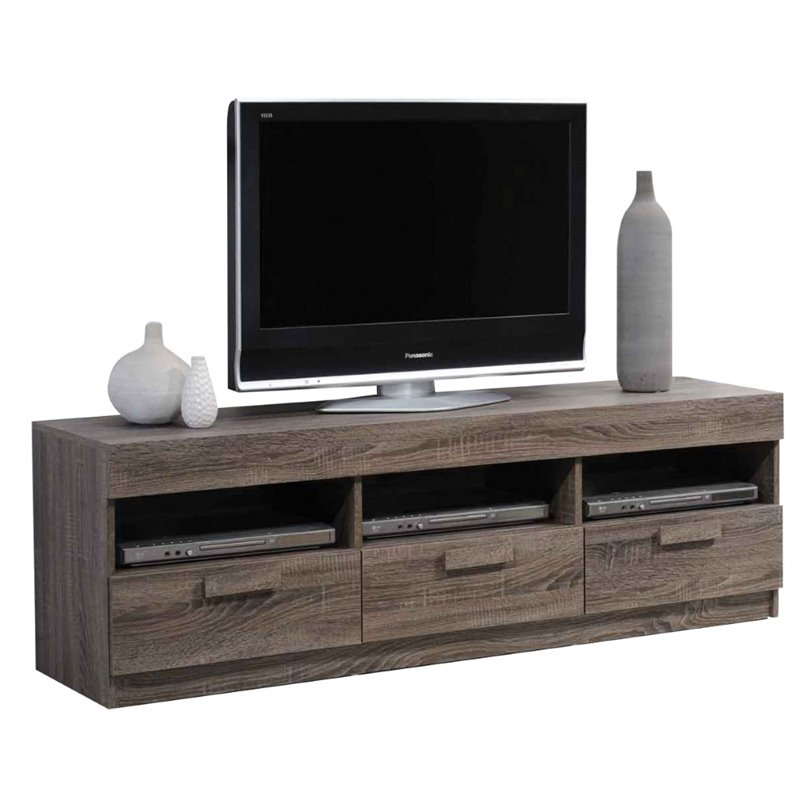 Tv Stand Media Storage Console Table