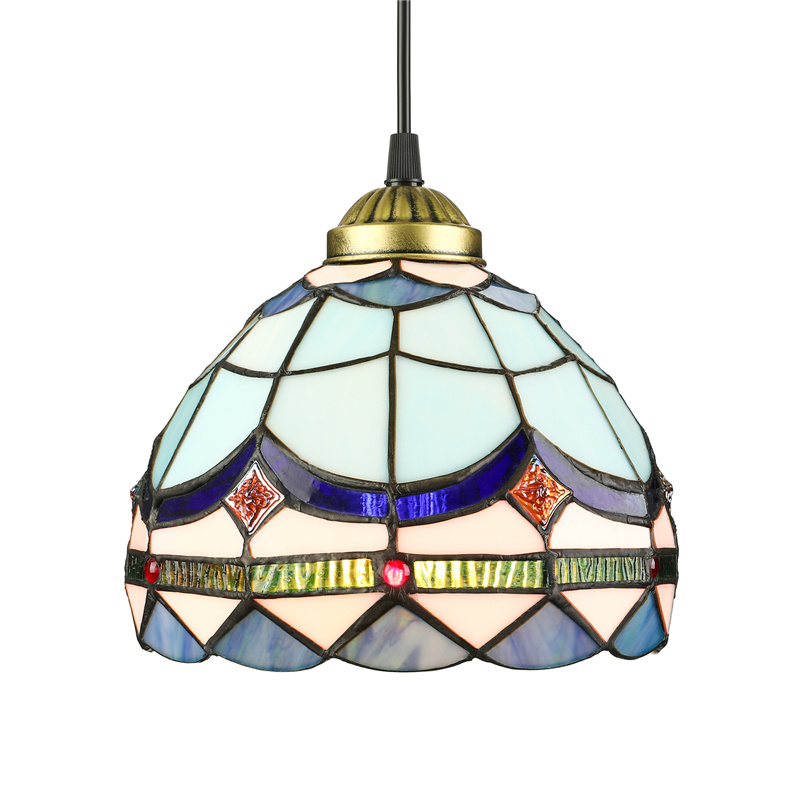 Details About Classic Tiffany Style Stained Glass Pendant Light Baroque Ceiling Lamp Fixture