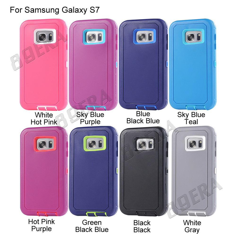 Shockproof-Rugged-Heavy-Duty-TPU-PC-Case-Cover-Belt-Clip-Holster-For-Samsung