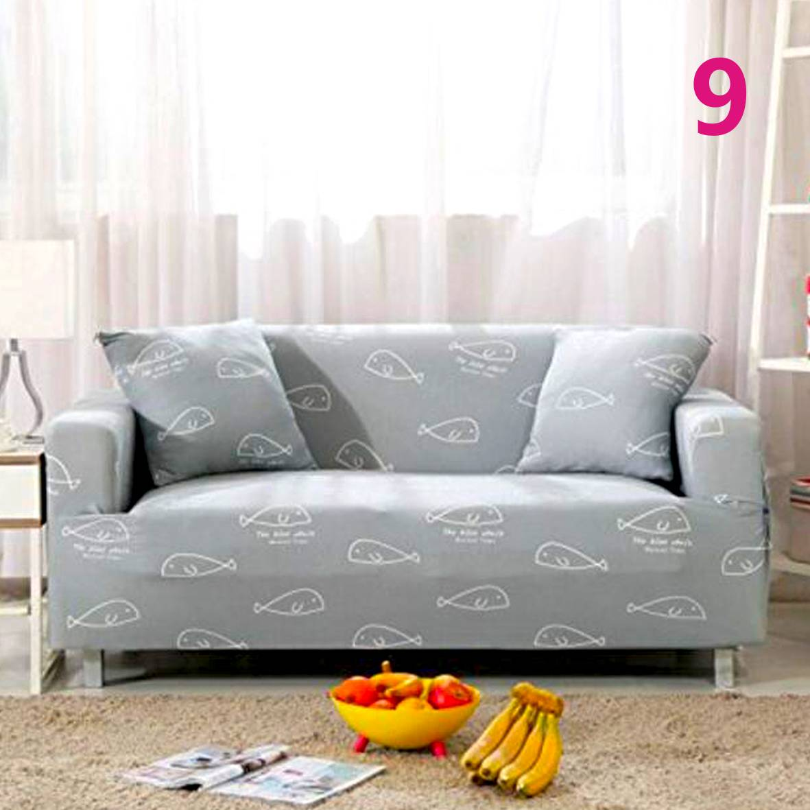 1 2 3 Seater Floral Modern Stretch Sofa Slipcover