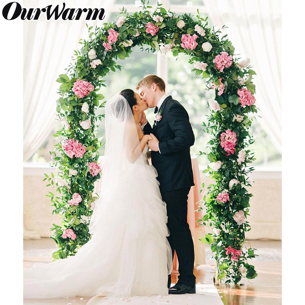 Flower Arch For Wedding: Metal White Wedding Arch Pergola Flower Photo Background