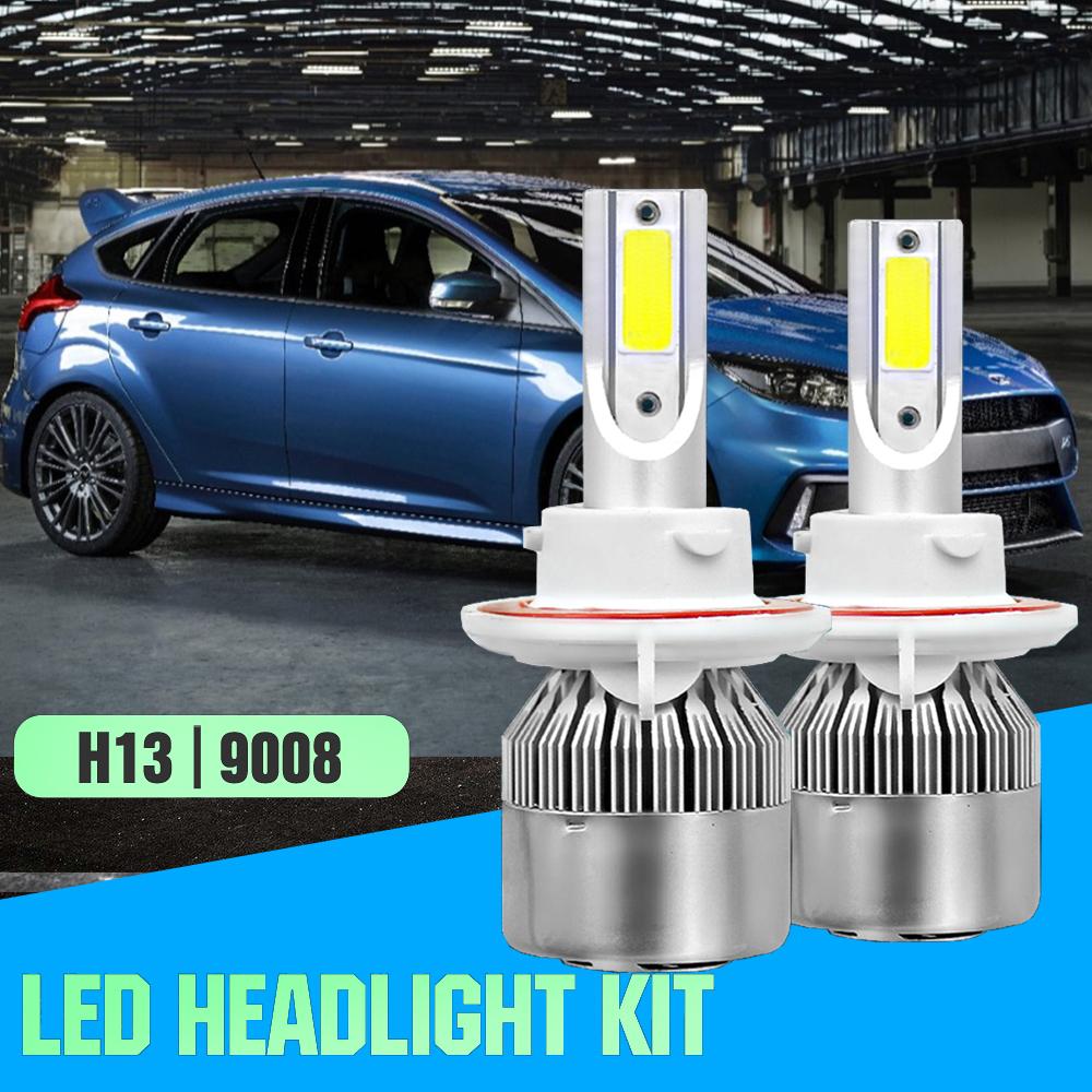 1pair H13 Led Headlight Bulb For Ford Focus 08 2011 Flex 09