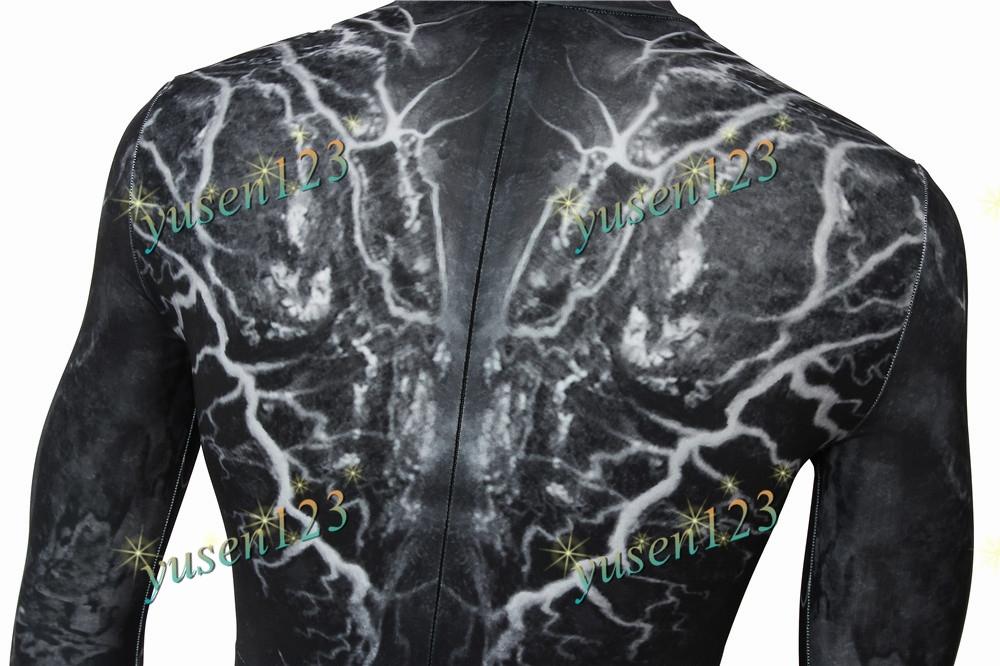 Tom Hardy Venom Suit Eddie Brock Costume Cosplay Comic Con ...