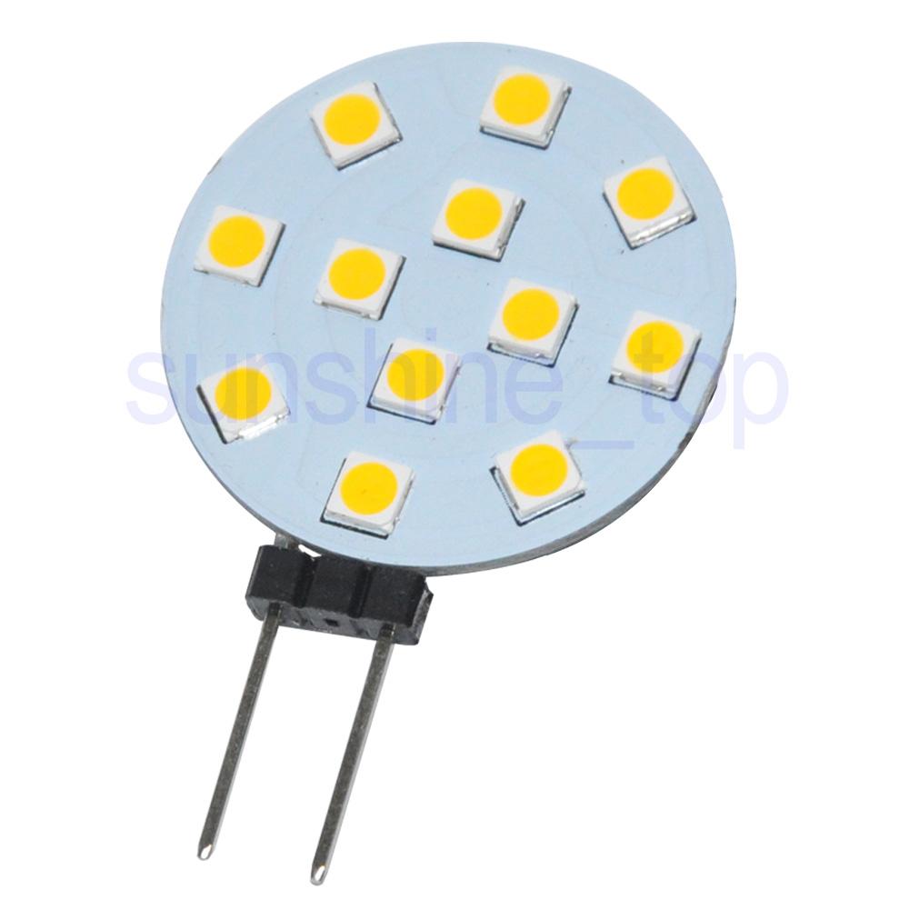 4x-G4-12-SMD-3030-LED-Lampe-Birne-Spot-Licht-Leuchte-warmweiss-450LM-12-24V-3-5W Indexbild 2