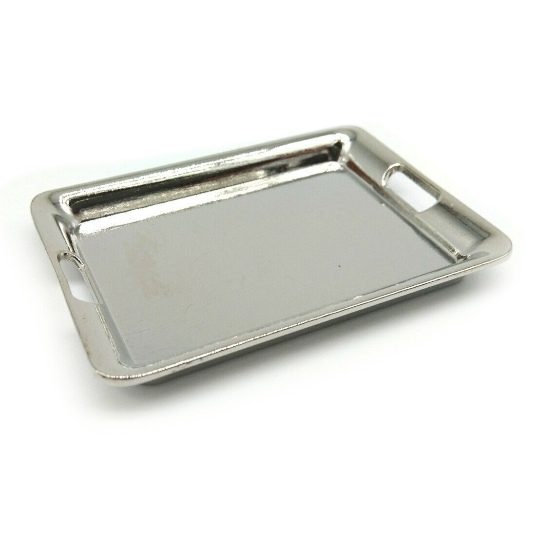 Dollhouse Kitchen Cookware Tray Salver 1:6 Miniature Accessories Bronze