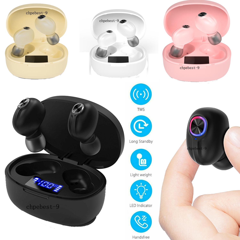 Tws Bluetooth 5 0 Headsets Wireless Earphones Mini Earbuds Stereo Ear Headphones Ebay