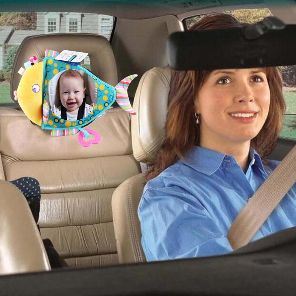 Baby Car Mirror Seat Shatterproof Safe Rear Facing