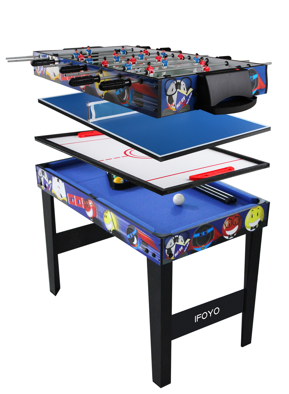 31 5 Quot 4 In 1 Multi Game Table For Kids Steady Combo Game