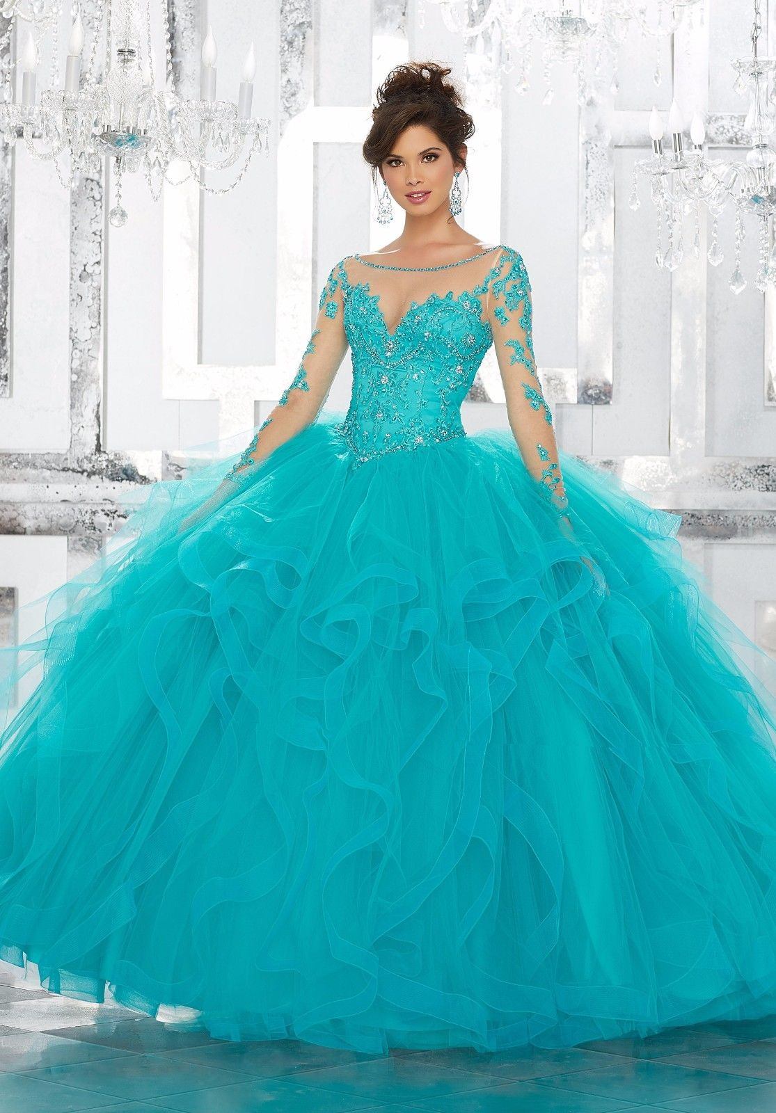 New Quinceanera Dress Party Evening Ball Formal Prom Pageant Wedding ...