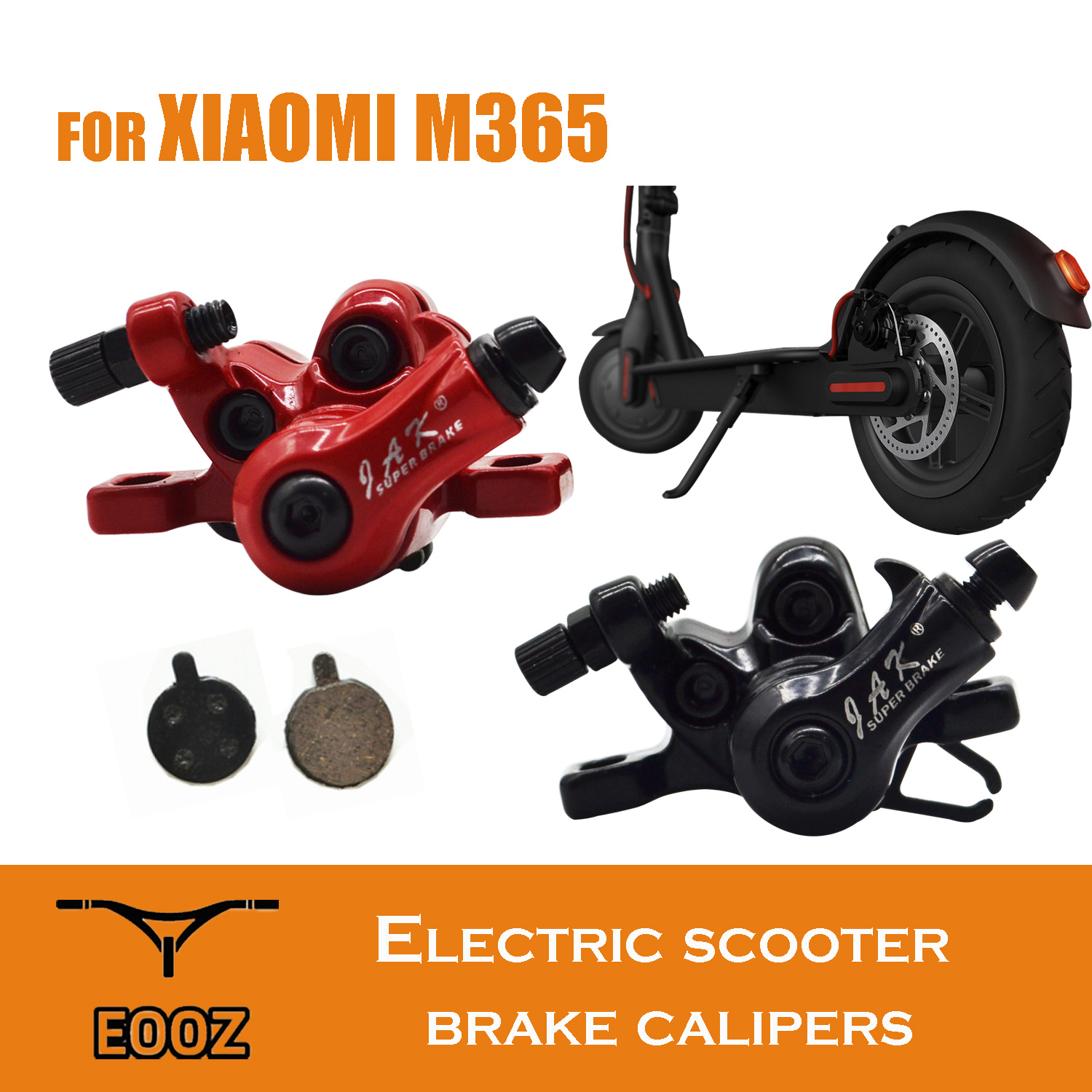 Replacement for Xiaomi Mijia M365 Electric Scooter Disc Brake Caliper and 110mm Disc Accessories Scooter