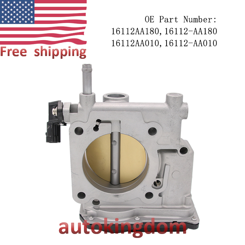 16112-AA180 OEM Throttle Body Assembly For Impreza Legacy outback 2.5L TH80 GAS
