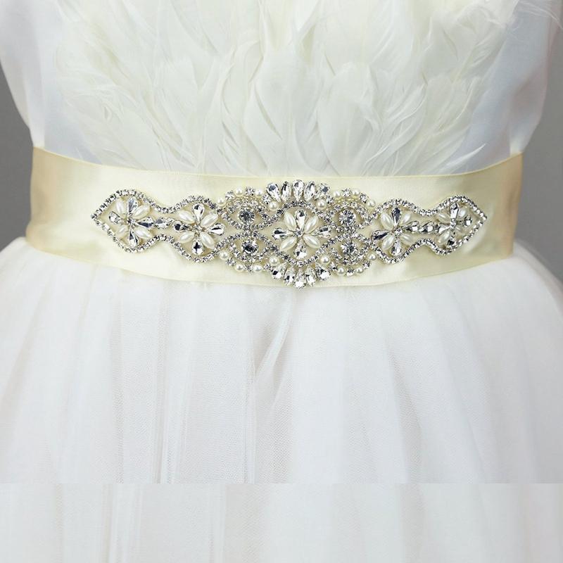 Handmade Crystal Bridal Sash,Wedding Dress Sash,Rhinestone Wedding ...