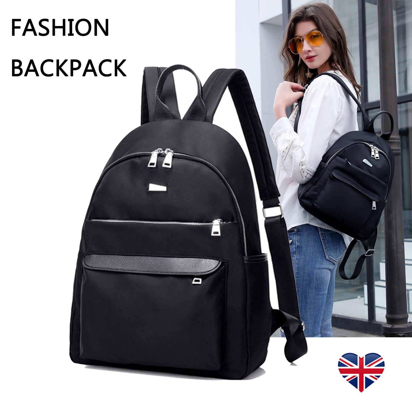 c5f74c2fac Details about Women Girls Ladies Fashion Backpack Rucksack Travel Shoulder College  School Bag