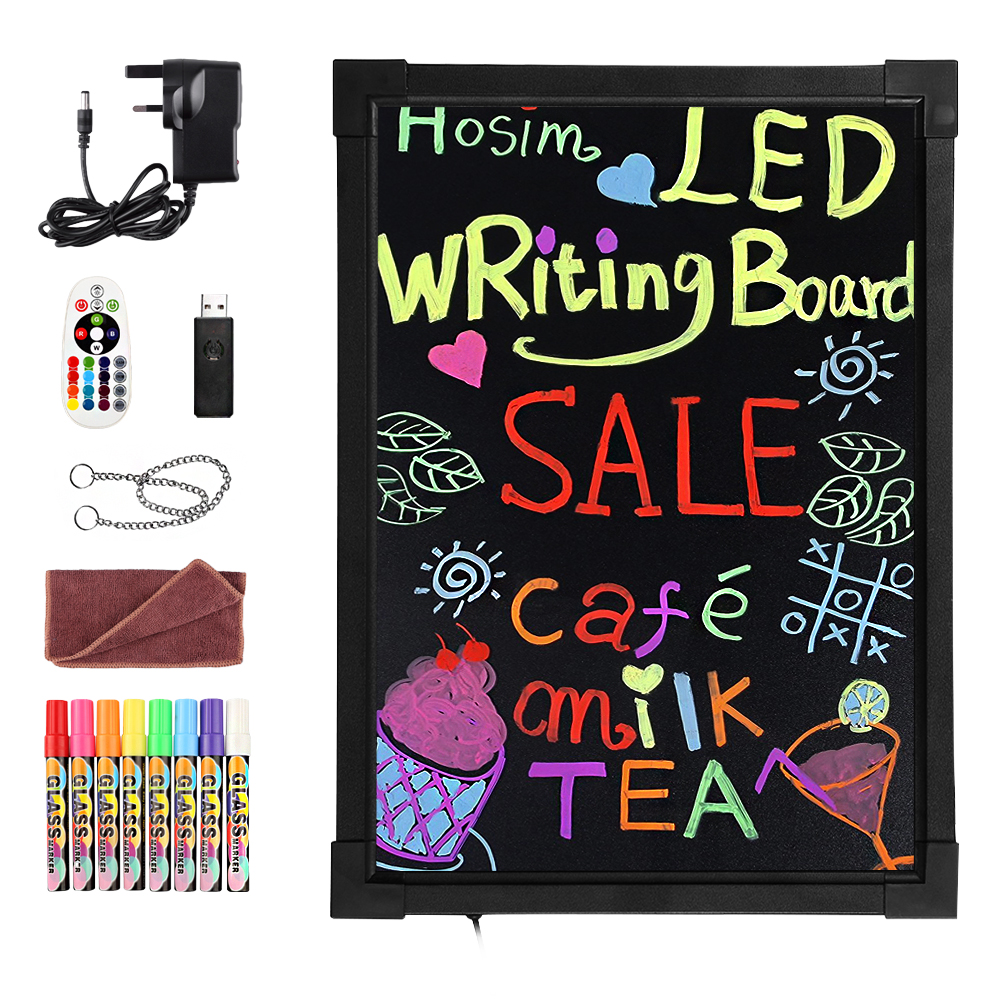40x60cm Sensory LED Light Up Drawing//Writing Board Toy Special Needs Autism ADHD