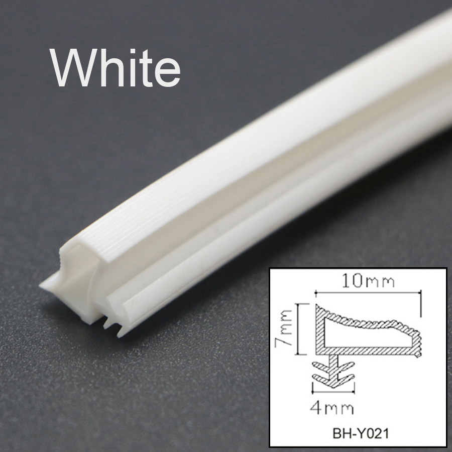 PVC Rubber Sealing Strips Timber Wooden Door Window Frame Seal ...