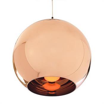 Large Metallic Copper / Chrome Glass Globe Ceiling Pendant Light Shade Shades  sc 1 st  eBay & Large Metallic Copper / Chrome Glass Globe Ceiling Pendant Light ... azcodes.com