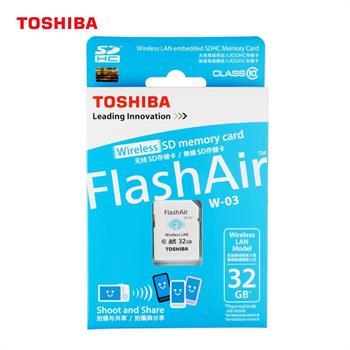toshiba flash air iii w 03 wlan wifi 32gb class 10 sd sdhc. Black Bedroom Furniture Sets. Home Design Ideas