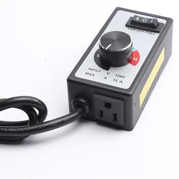 Newest pour Routeur Ventilateur Vitesse Variable Contrôleur Moteur électrique rhéostat AC 120 V