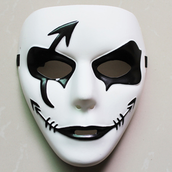 Horror Halloween Mask Hip-hop Dance Ghost Step Dance White Masks ...